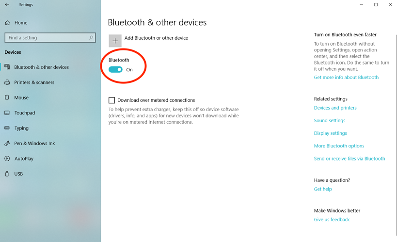 how-to-turn-on-bluetooth-on-widows-10