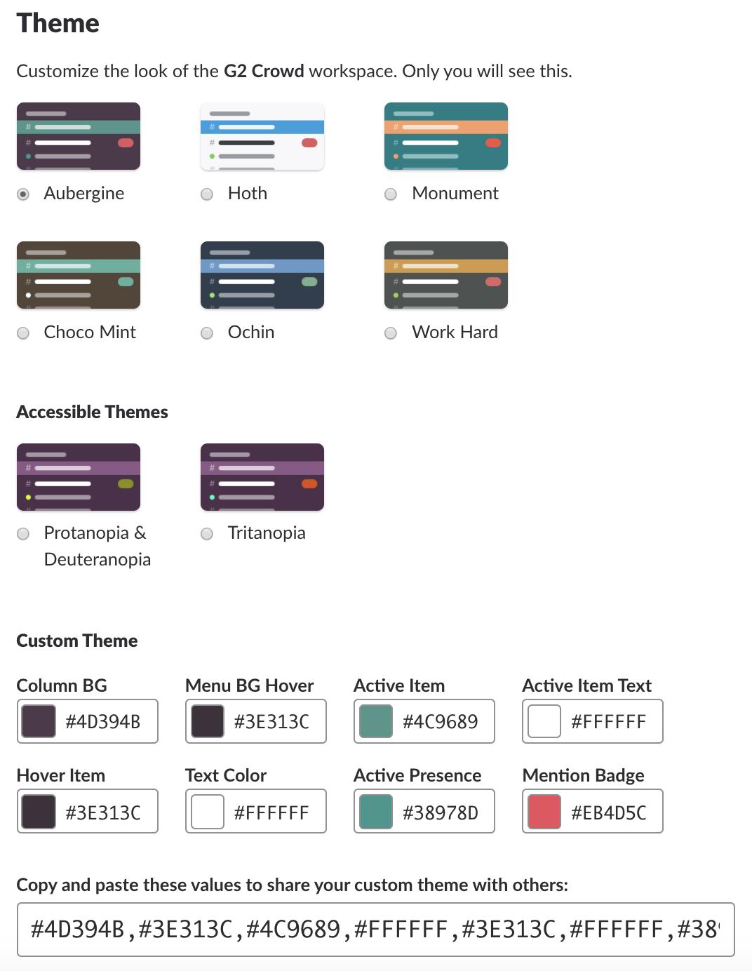 Slack-themes