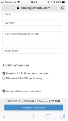 Smoobu vacation rental software