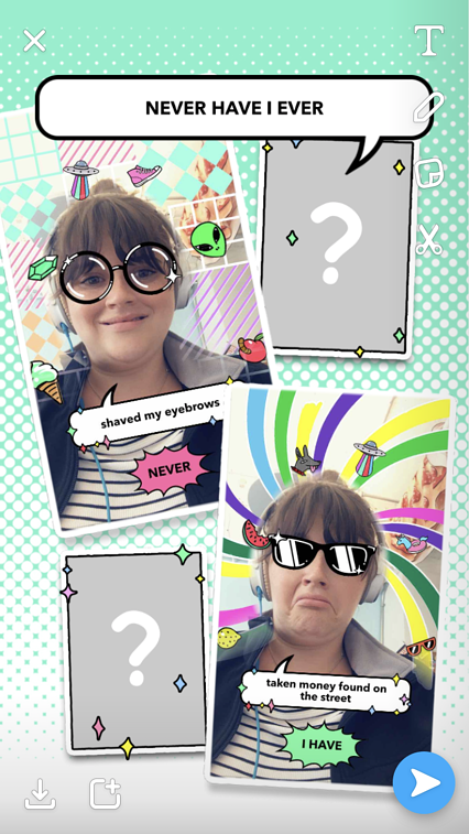 e4482f59405 How to Use Snapchat Filters (+Wacky Examples)