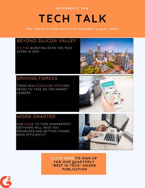 tech email newsletter template
