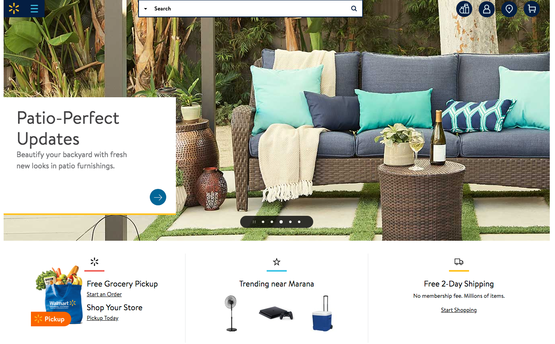 Walmart's online marketplace is growing in popularity.