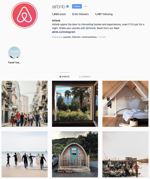 Airbnb Instagram filter and techniques