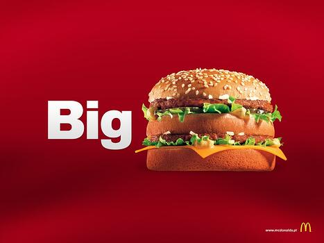 big mac advertisement