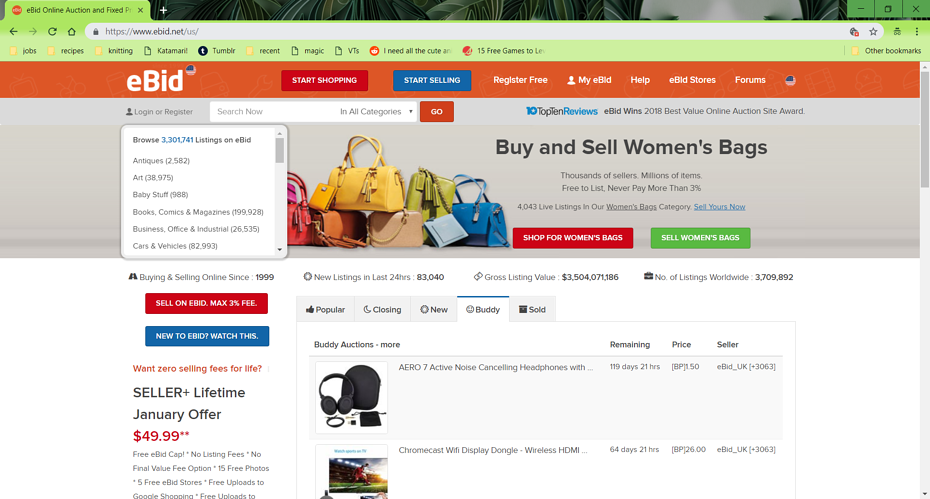 ebid provides subscriptions to help sellers boost their auctions