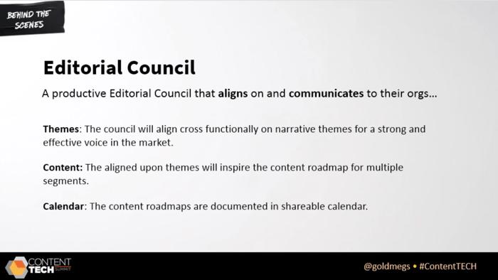 linkedin editorial council