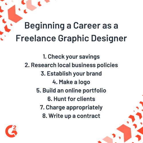 freelance graphic designer career