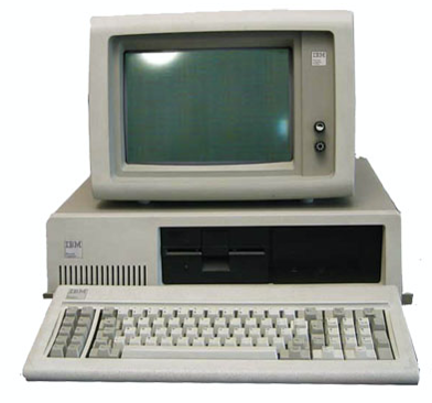 old fashioned pc