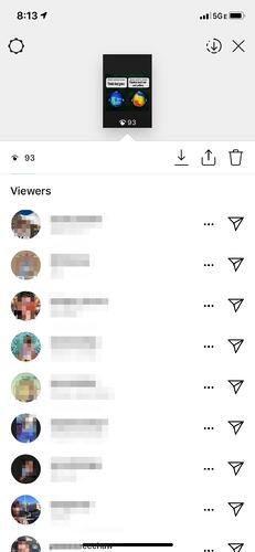 how to see who's viewed your insta story