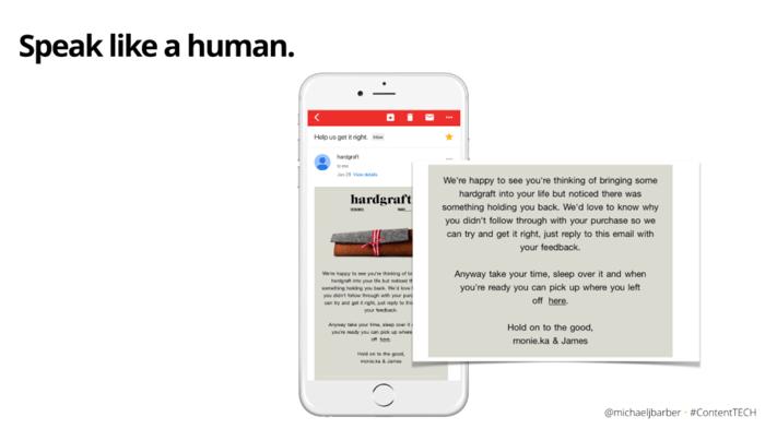 email like a human