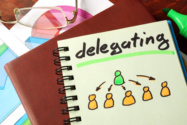 delegate tasks prioritize at work
