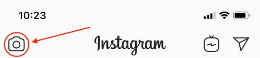 instagram camera icon