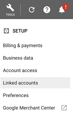 linking a youtube account to google ads