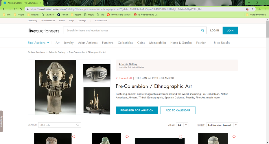 liveauctioneers provides online tools for auction houses