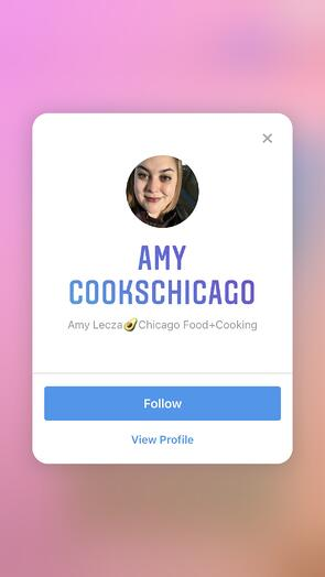 Scanning Instagram Nametag