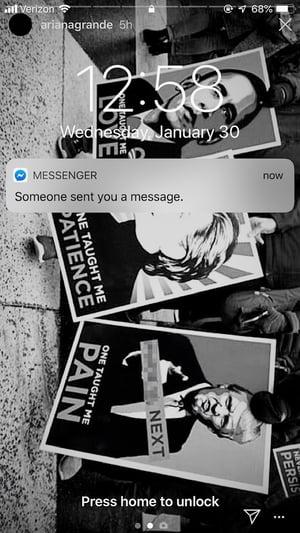 Secret Conversation Notification