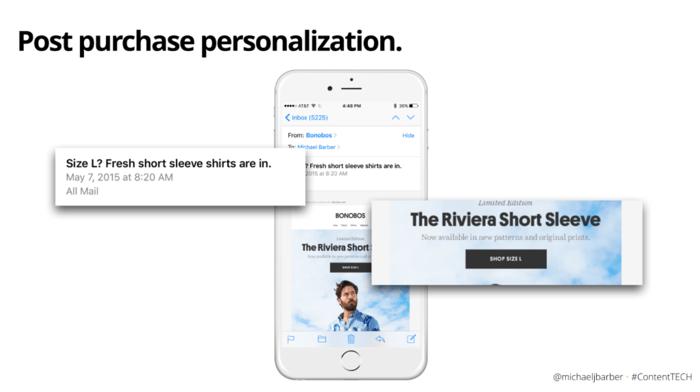 post purchase personalization