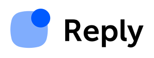 Reply logo
