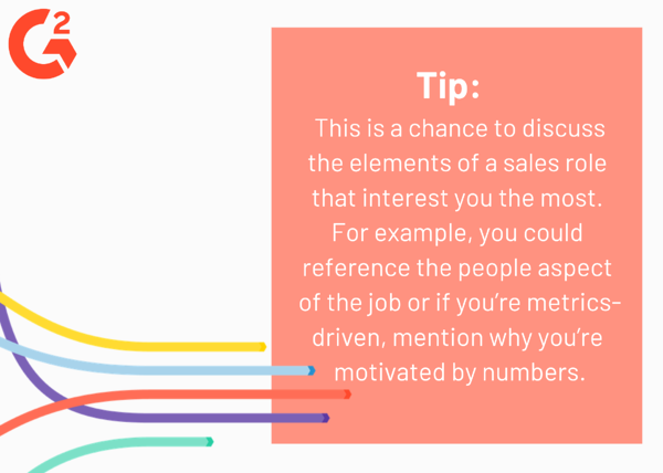 sales interview questions tip