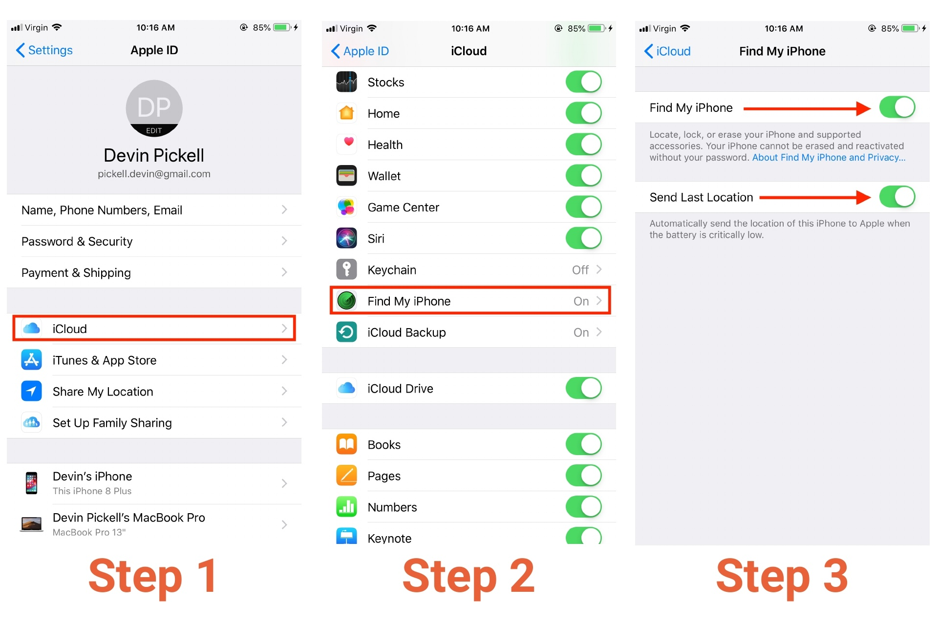 How to Turn on Find My iPhone in 3 Easy Steps
