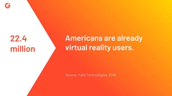 virtual reality usage statistic