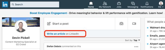 write-an-article-on-linkedin
