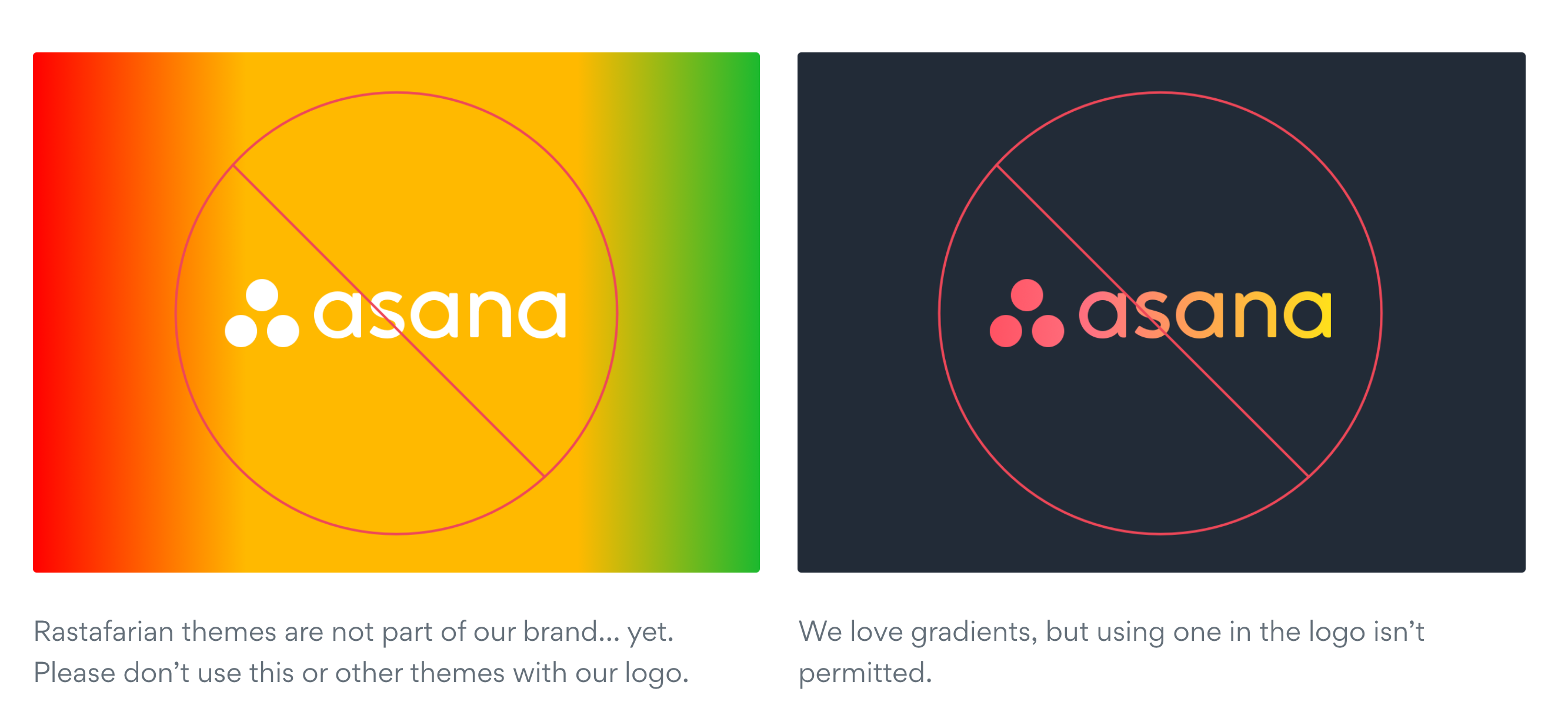 Asana Style Guide Example