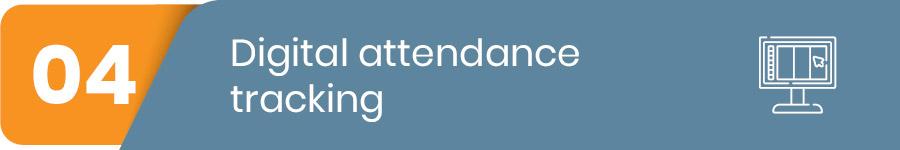 digital attendance tracking