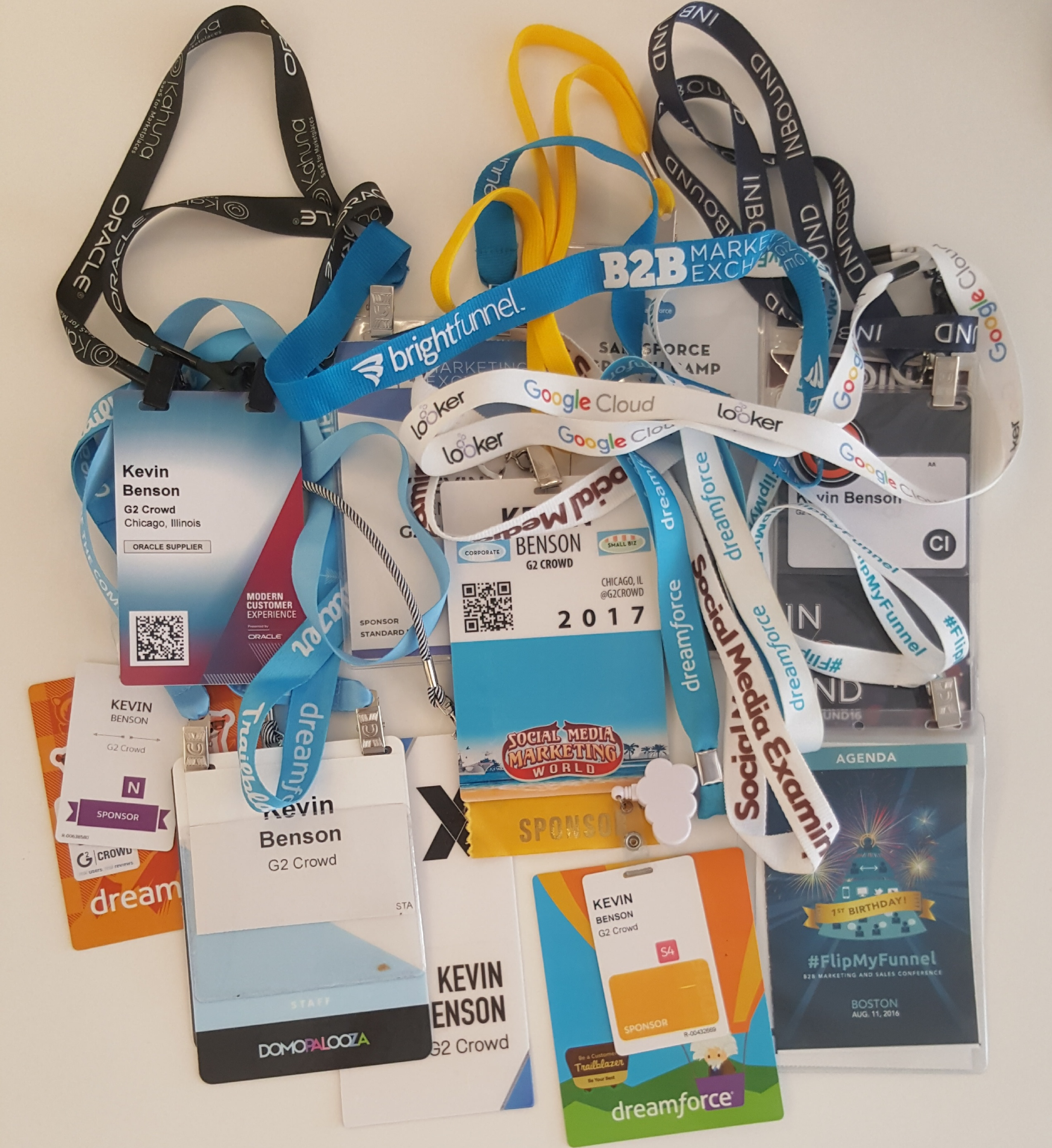 how to create event name badges minus the headaches