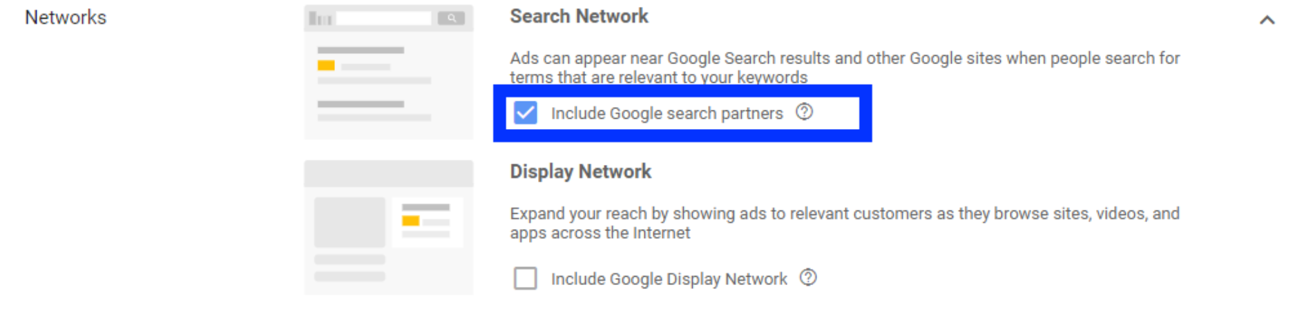 Google search partners