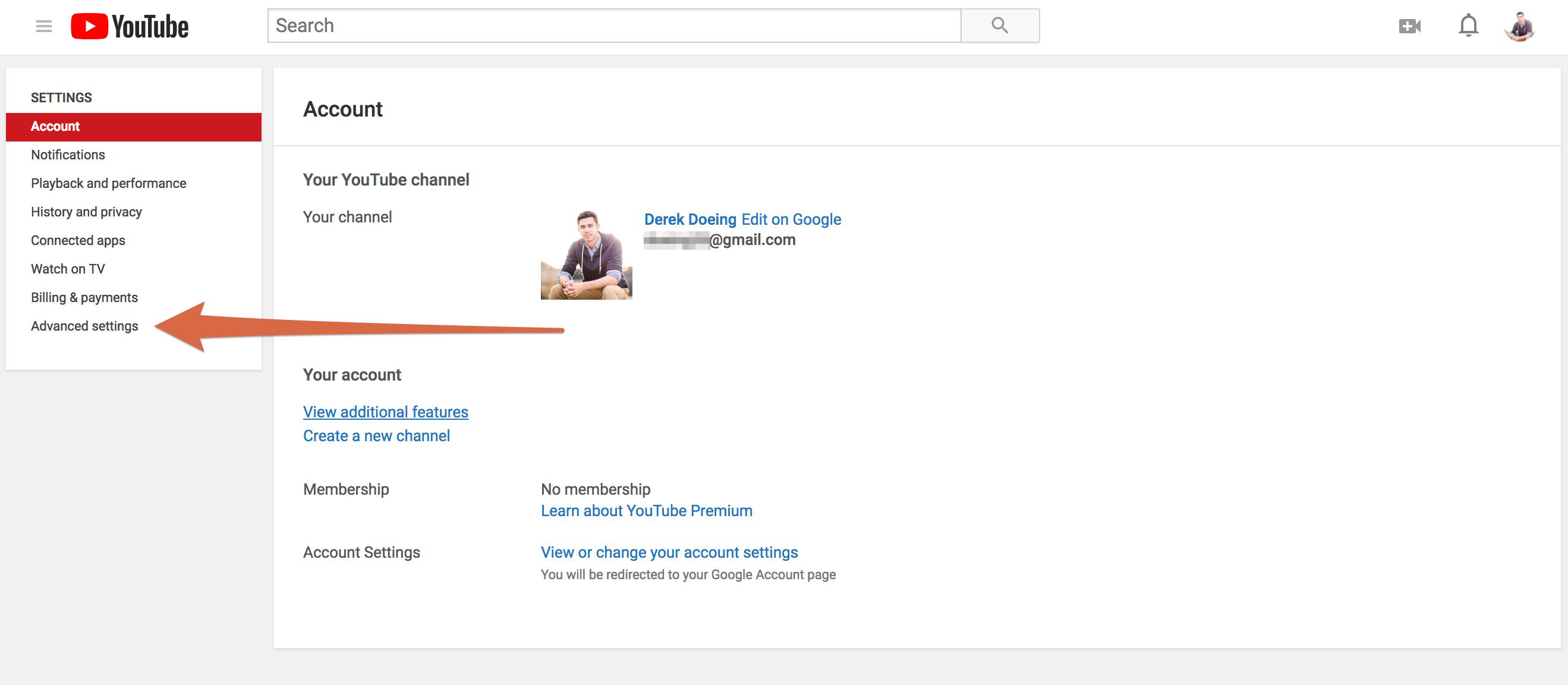 youtube-account-screen