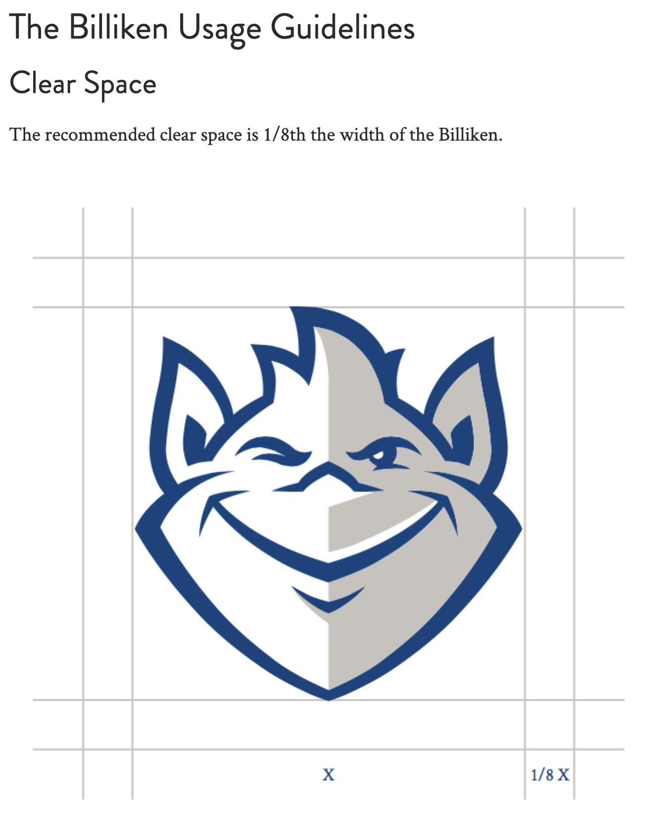 SLU Style Guide Example