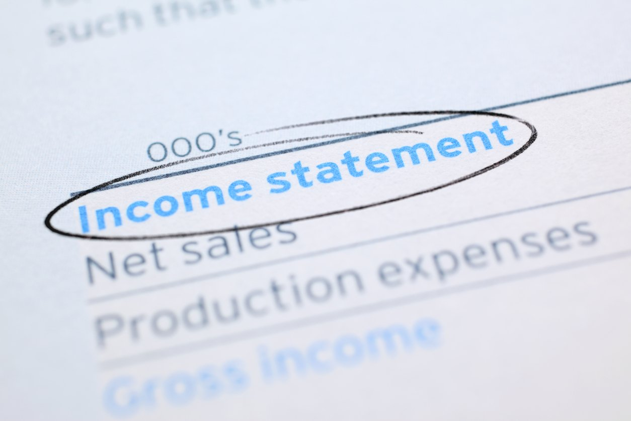 Income Statement Example | A Clear Income Statement Example Free Downloadable Template