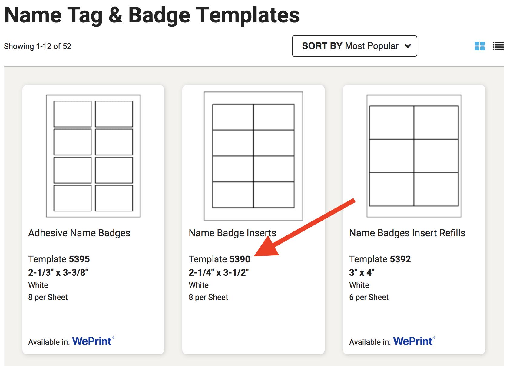 How to create event name badges minus the headaches name badge template maxwellsz