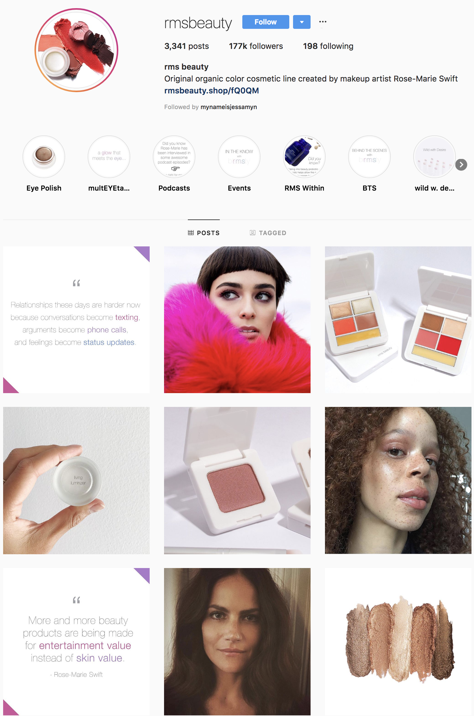 rms-beauty-instagram-influencer-profile