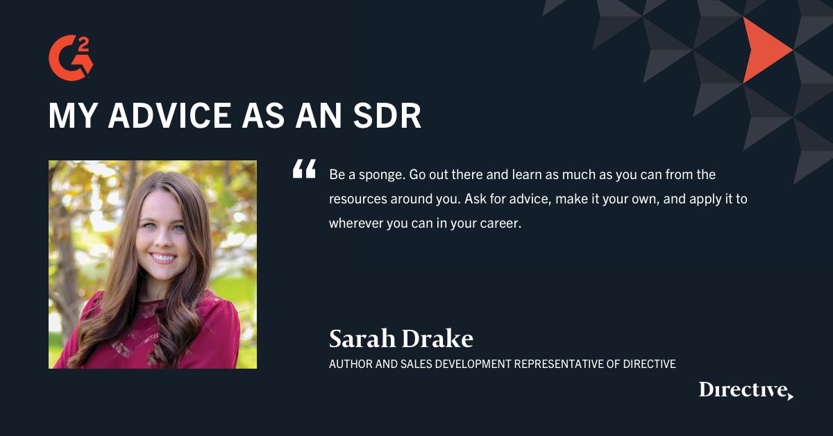 sarah drake quote